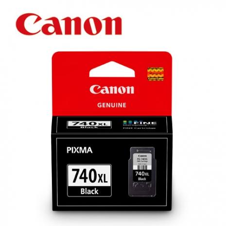 CANON PG-740XL 原廠黑色高容量墨水匣-數位筆電.列印.DIY-myfone購物