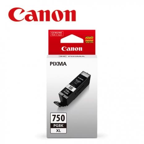 CANON PGI-750XL-BK 原廠黑色XL墨水匣