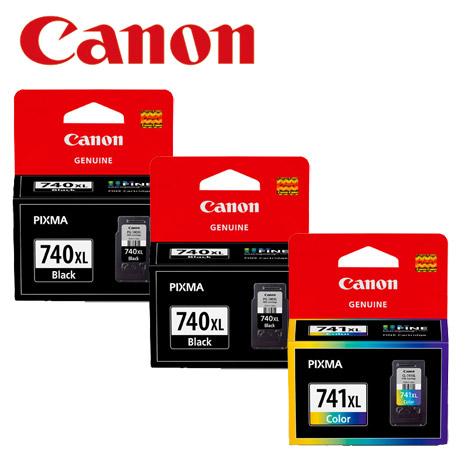 CANON PG-740XL+CL-741XL 原廠墨水組合 (2黑+1彩)