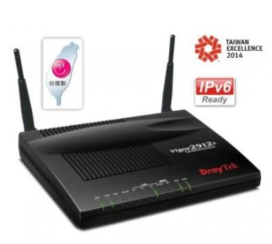 【DrayTek居易】中小企業VPN防火牆路由器(Vigor2912n)