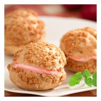 預購-京點洋果子 冰淇淋泡芙綜合2盒(草莓1盒+薄荷巧克力1盒)