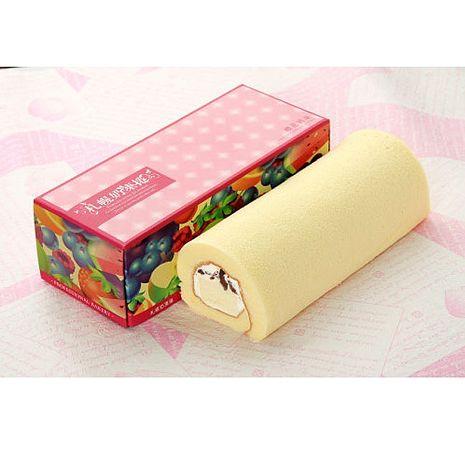 預購-札幌奶凍捲 櫻花奶凍捲2條(450g±10g/條)
