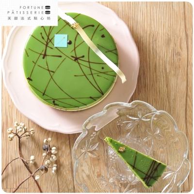 [伴手禮專案]芙甜法式點心坊 宇治?茶紅豆慕斯蛋糕6吋/770g/入