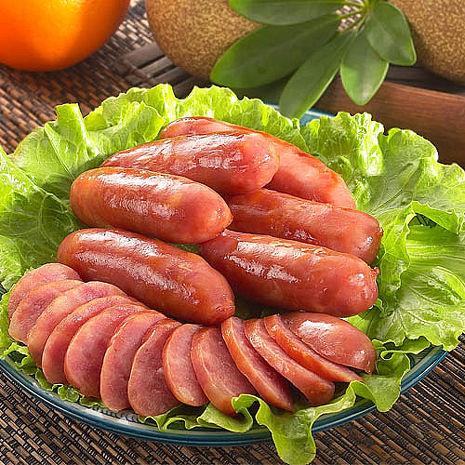 [伴手禮專案]正味馨 紅麴紹興香腸-原味600g*2