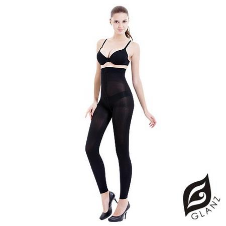 GLANZ 格藍絲 320丹3D平腹翹臀纖腿日用夜寢九分束褲