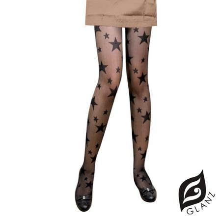【GLANZ格藍絲】日系甜美辛辣造型顯瘦透膚襪-閃耀新星