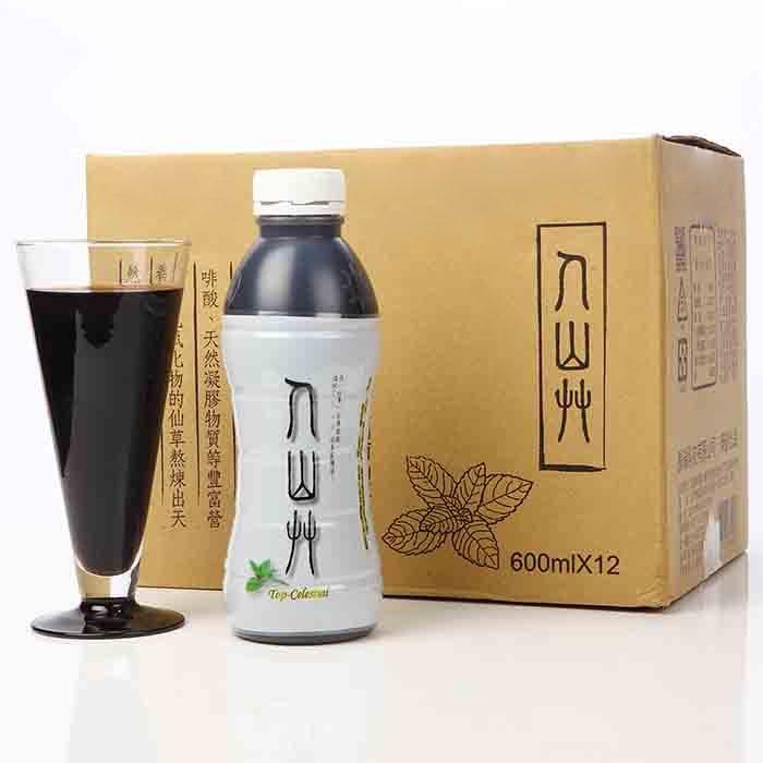 【人山艸】無鹼純天然仙草茶(600MLx12瓶)