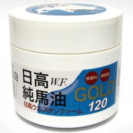 日本原裝北海道GOLD日高W.F純馬油120ml (2瓶入)