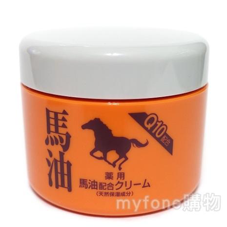【日本北海道昭和新山熊牧場】藥用馬油(Q10配合) Horse Oil Cream 90g