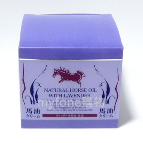 日本免稅店薰衣草馬油 90g Natural Horse Oil With Lavender