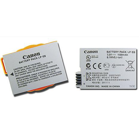 Canon LP-E8 相機專用原廠鋰電池(平輸無吊卡) Canon EOS 700D 550D Kiss X4 600D 650D-相機.消費電子.汽機車-myfone購物