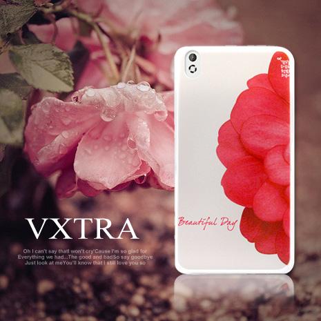 【VXTRA】HTC Desire 816 / D816w 藝術彩繪手機殼 倫敦汽車