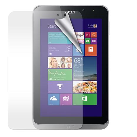 Acer Iconia W4-820 review 高透光亮面耐磨保護貼- 平板用