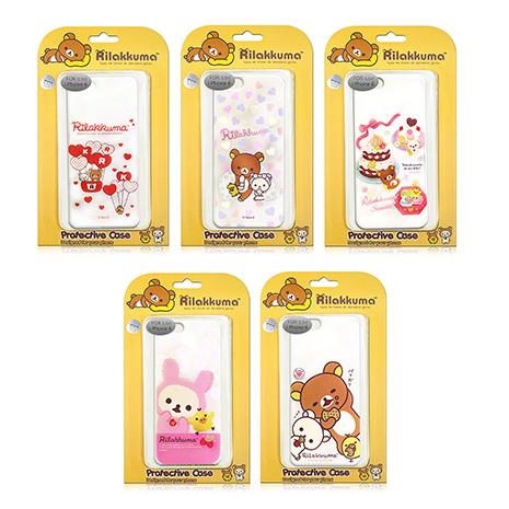 【日本授權正版】懶懶熊/拉拉熊/Rilakkuma iPhone 6s+/6 plus 5.5吋 i6+ 最新款 透明保護殼下午茶蛋糕