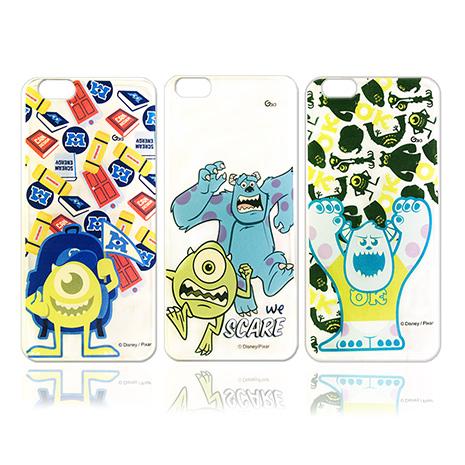 迪士尼授權正版 Disney iPhone 6s/6 4.7吋 i6 透明彩繪軟式保護殼 手機殼(怪獸大學款)繽紛毛怪