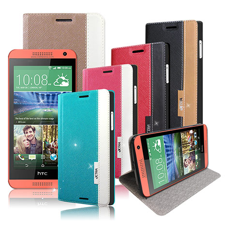 【VXTRA】HTC Desire 610 / D610X  韓系潮流 磁力側翻皮套