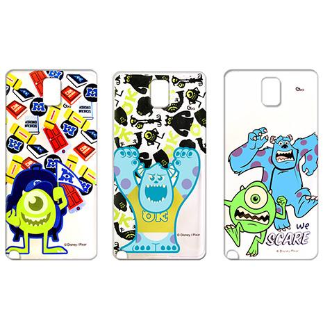 迪士尼授權正版 Disney  Samsung GALAXY Note 3  透明彩繪軟式保護殼 手機殼(怪獸大學款)