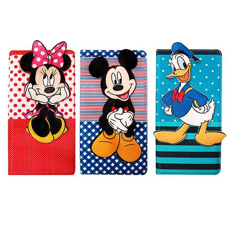 迪士尼授權正版 Disney iPhone 6s/6 4.7吋 i6 磁力側翻支架立體皮套(米奇米妮款)