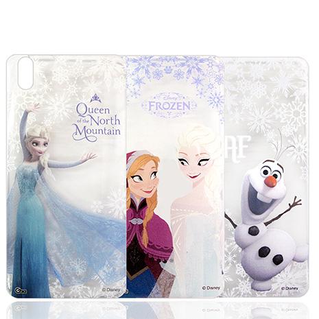 迪士尼授權正版 冰雪奇緣Frozen HTC Desire 816 d816x 透明彩繪軟式保護殼 手機殼雪寶