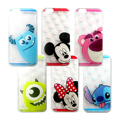 迪士尼授權正版 iPhone 6s/6 4.7吋 i6 大頭娃透明彩繪軟式保護殼 手機殼-手機平板配件-myfone購物