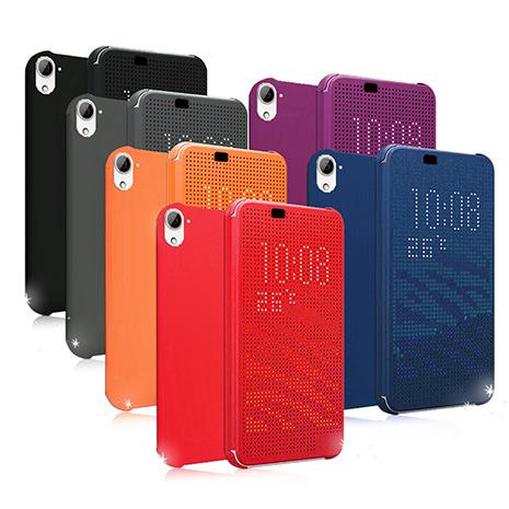 Universal HTC Desire 826 / 826w 炫彩Dot View 智慧型保護套