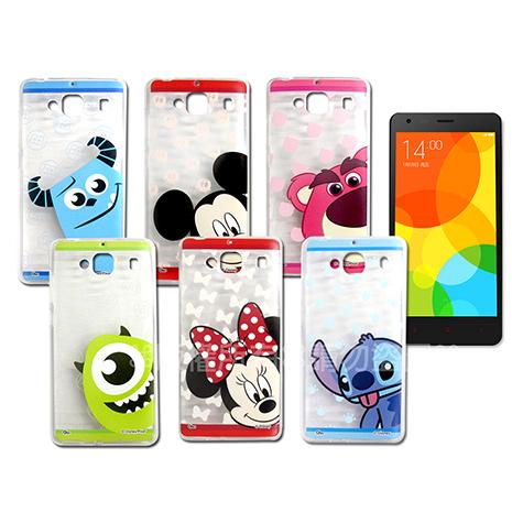 迪士尼授權正版  MIUI 紅米機2/ 紅米2 大頭娃透明彩繪軟式保護殼 手機殼-手機平板配件-myfone購物