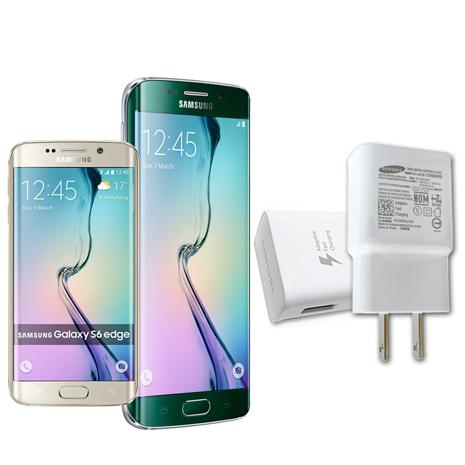 SAMSUNG GALAXY S6/S6 edge 原廠9V快速旅充 充電頭-平輸密封包裝-手機平板配件-myfone購物