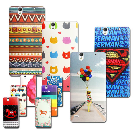【VXTRA】Sony Xperia C4 E5353 藝術彩繪 手機殼 保護殼 背蓋