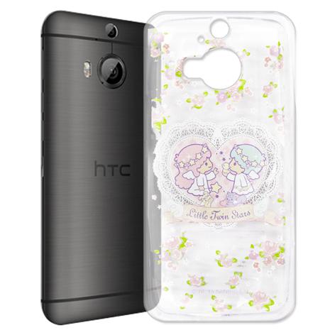 Little Twin Stars KiKiLaLa hTC One M9+ M9 Plus 透明軟式手機殼(天使雙子星)