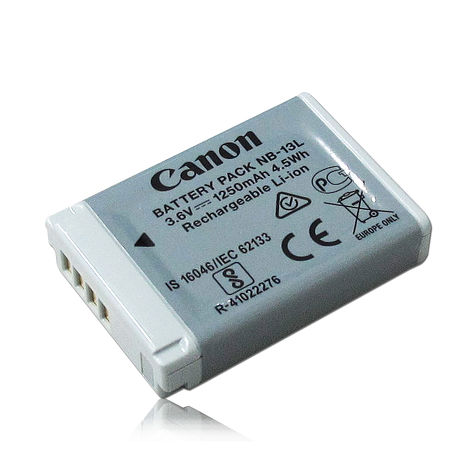 Canon NB-13L / NB13L 專用相機原廠電池(平輸密封包裝) Canon PowerShot G7X等