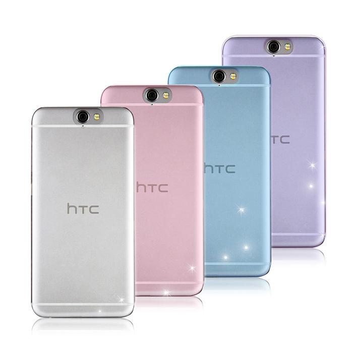 【VXTRA】超完美HTC One A9 清透0.5mm隱形保護套 手機殼蜜糖透粉