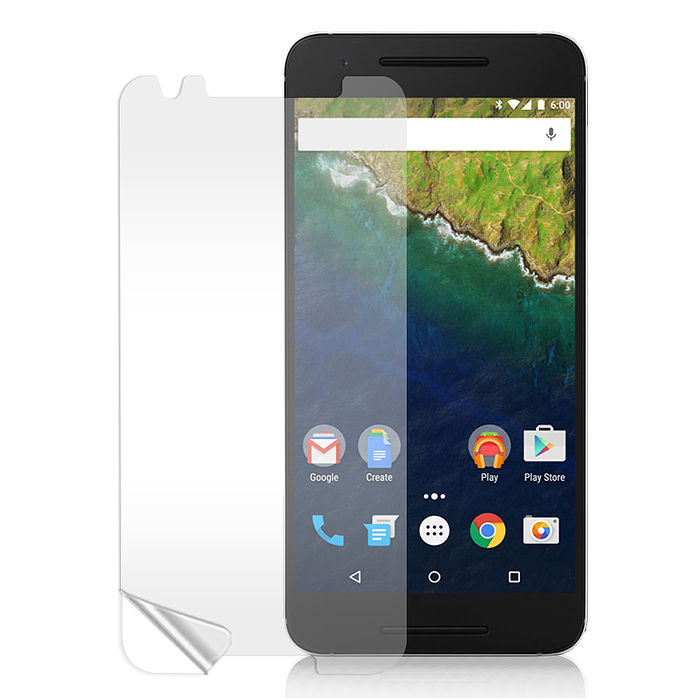 Monia 華為 Huawei Nexus 6P 高透光亮面耐磨保護貼 保護膜