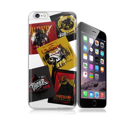 電影授權正版 STAR WARS星際大戰 黑武士 iPhone 6/6s 4.7吋 彩繪軟式手機殼(亂花普普)