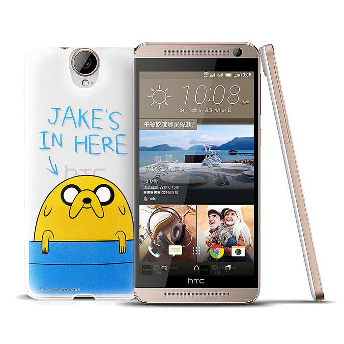 CN卡通頻道授權正版 HTC One E9/E9+ 探險活寶透明軟式手機殼(老皮泡湯)