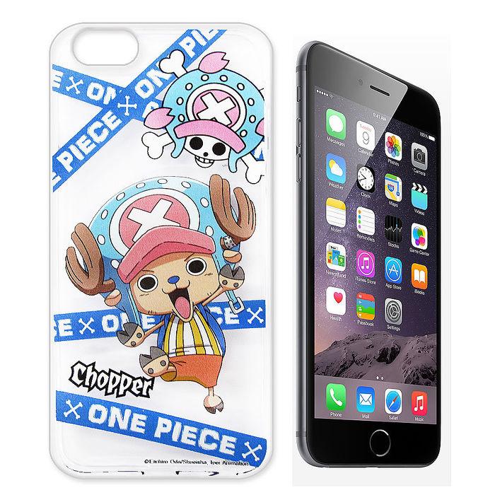 東映授權正版 航海王 iPhone 6/6s i6s 4.7吋 透明軟式手機殼(封鎖喬巴)
