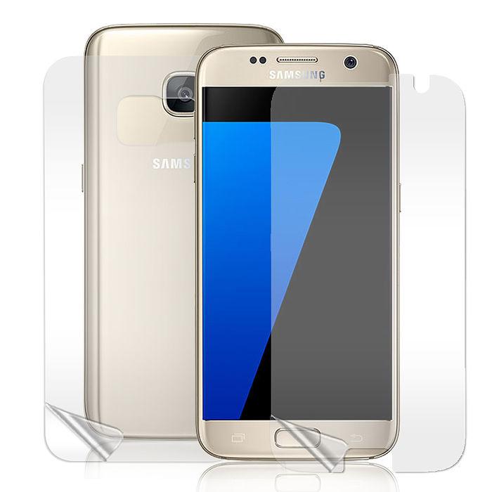 【VXTRA】三星 Samsung Galaxy S7 edge 5.5吋 高透光亮面耐磨保護貼(正反雙膜)