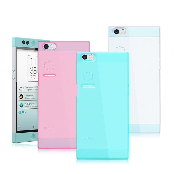 【VXTRA 】超完美 Nextbit Robin 5.2吋 雲端手機 清透隱形保護套 軟性手機殼甜透粉