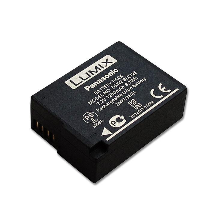 Panasonic DMW-BLC12E / BLC12 專用相機原廠電池(全新密封包裝) DMC-GH2 G5 FZ200 G6 GX8 G7