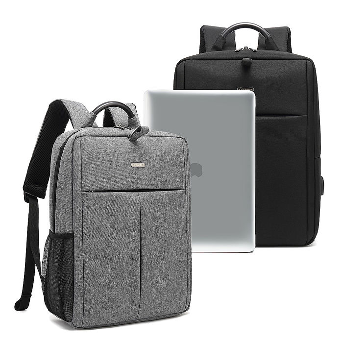 15.6吋 通勤日常 防潑水MacBook學生書包 上班族平板筆電後背包