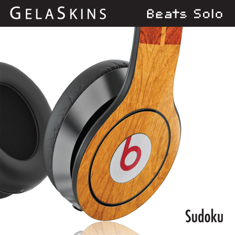 GelaSkins Beats Solo耳機貼紙- Sodoku