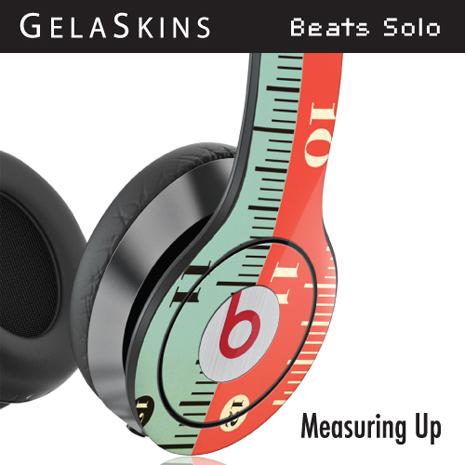 GelaSkins Beats Solo耳機貼紙- Measuring Up