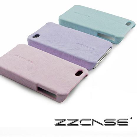 【zzcase】Macaron iPhone4/4S保護殼(野莓色)