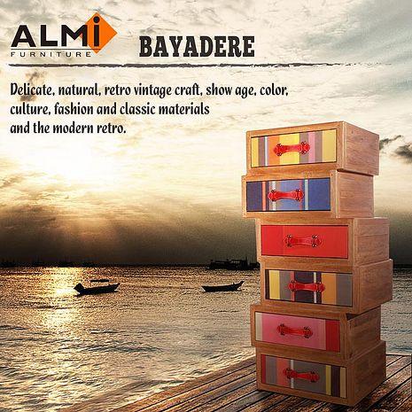 【ALMI】DOCKER BAYADERE- ASYMMETRIC 6 DRAWER 六抽櫃