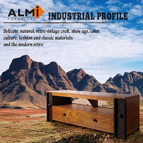 【ALMI】DOCKER PROFILE- PRO MEUBLE TV 工業風電視櫃