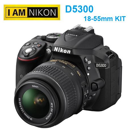 Nikon D5300 + 18-55mm KIT 內建WiFi GPS 國祥公司貨 豪華套組