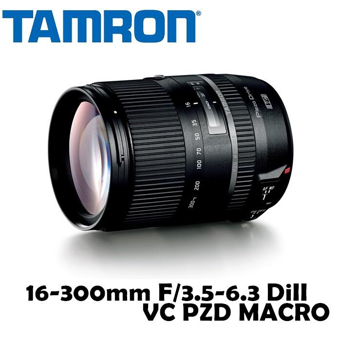 【TAMRON】騰龍 16-300mm F/3.5-6.3 DiII VC PZD MACRO B016 公司貨Canon