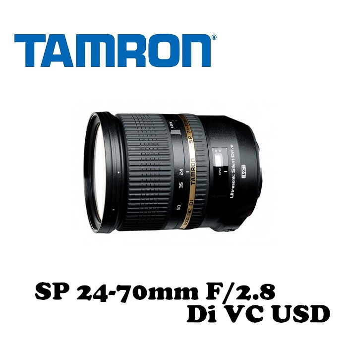 【TAMRON】騰龍 SP 24-70mm F/2.8 Di VC USD A007 公司貨