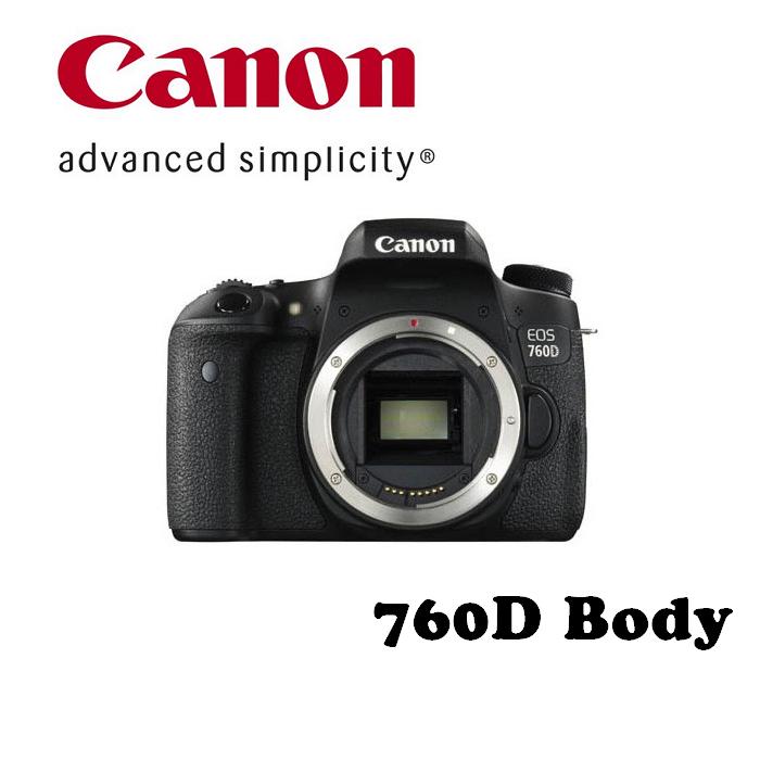 【現貨供應】Canon EOS 760D 18-135mm  旅遊鏡組 彩虹公司貨