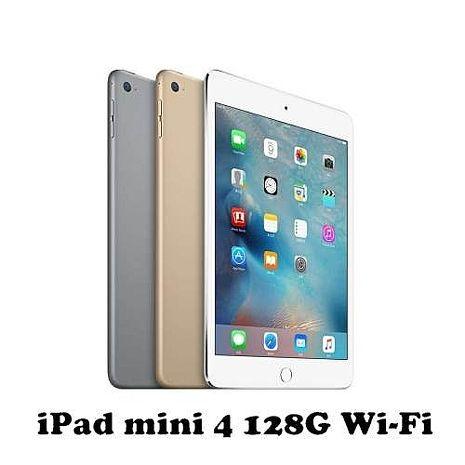 【Apple】iPad mini 4 128G 三色 小巧輕薄款 WiFi 版-智慧手機‧平板-myfone購物