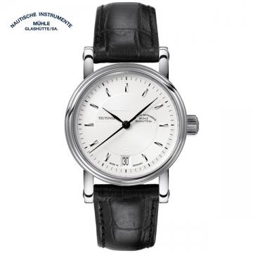德國高級腕錶品牌:格拉蘇蒂·莫勒Muehle·Glashuette Classical 經典系列-日耳曼時計M1-30-25-LB 中性機械表